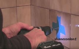 drill bathroom tiles without breaking them tutorial how to drill a hole in a ceramic tile without