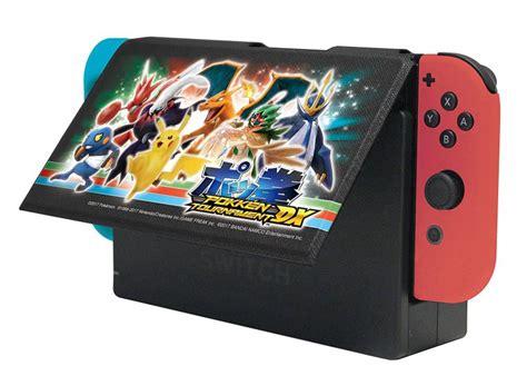 Nintendo Switch Pokken Tournament Dx pokk 233 n tournament dx stand cover revealed for nintendo