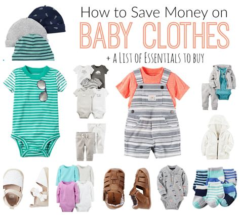 Do You A Separate Budget For Clothes And Accessories by How To Save Money On Baby Clothes Family Files Diy