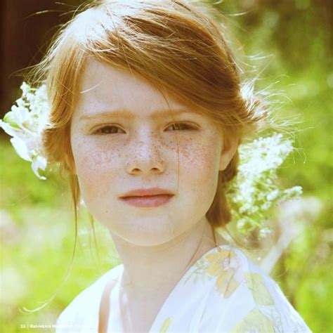 tween freckles minus the red hair this will literally be my daughter