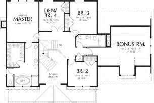 Average Square Footage Of A 4 Bedroom House by Traditional Style House Plan 4 Beds 2 5 Baths 2500 Sq Ft