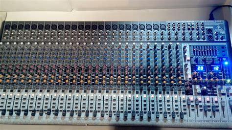 Mixer Behringer Sx2442fx behringer eurodesk sx2442fx image 721237 audiofanzine