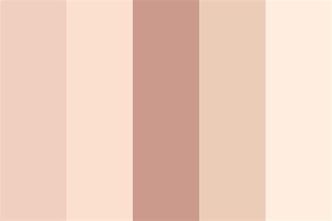my skin tone color palette