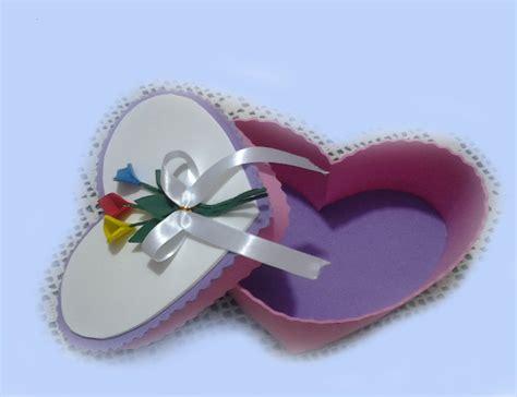 imagenes de corazones en foami caja coraz 243 n en goma eva para san valentin youtube
