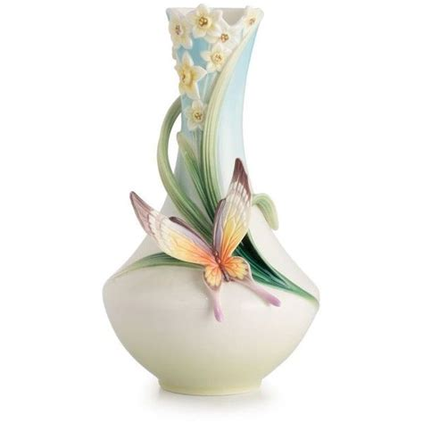 franz collection papillon butterfly small vase vases