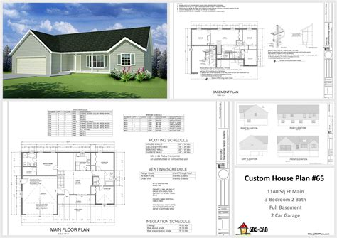 house and cabin plans plan 65 custom home design dwg and pdf