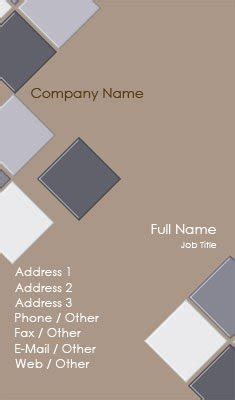business cards designs templates for tile installer business card templates flooring