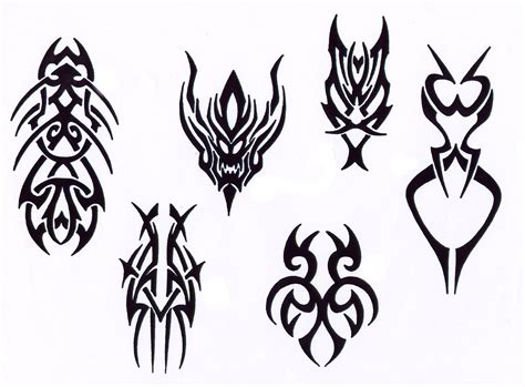 types of tribal tattoo styles tribal designs clipart best