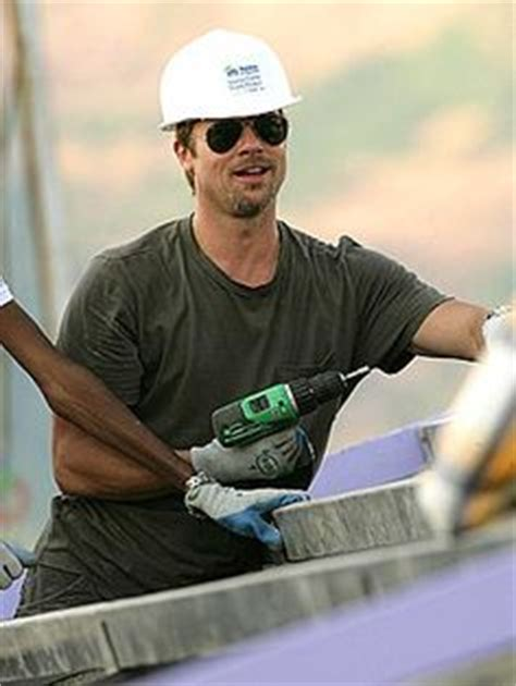 Brad Pitt Gets For Habitat For Humanity by 1000 Images About Volunteers On