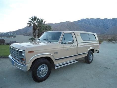 how to learn about cars 1986 ford e series security system find used pristine 1986 ford f250 show collector condition original documents records in