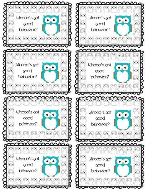 how to make punch cards 9 best images about punch cards on behavior