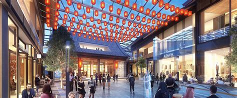 middle easts largest chinatown   built  dubai
