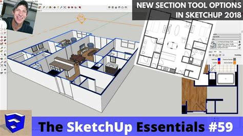 new section features in sketchup 2018 section fills