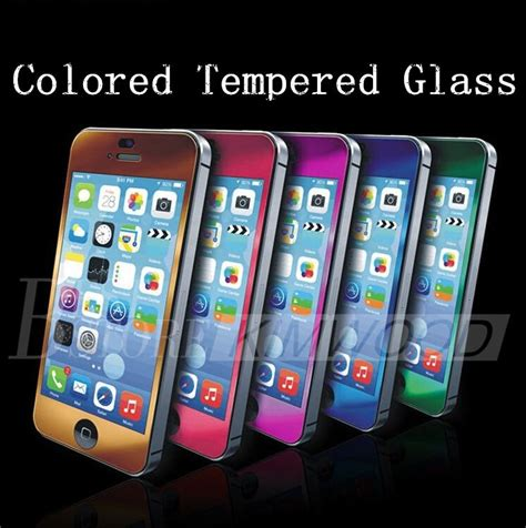 colored screen protector colored tempered glass premium screen protector 0 2mm 9h
