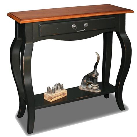 Slate Sofa Table by Brown Cherry Slate Solid Wood Console Table Overstock
