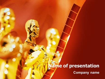 Movie Award Presentation Template For Powerpoint And Awards Presentation Template