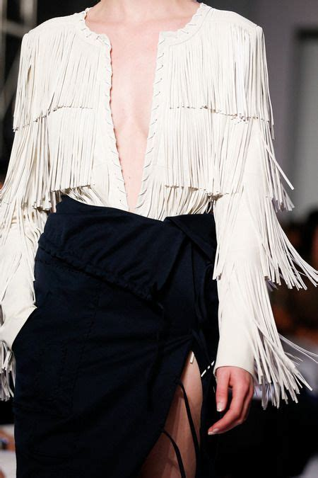 Fringe Blouse by Fringe And Tassels New Trend