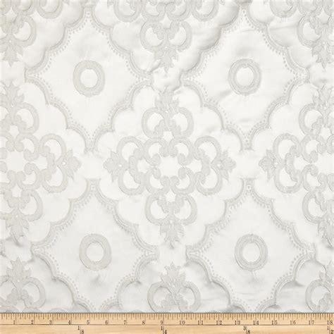 white jacquard pattern lacoste satin damask dimensional jacquard white discount