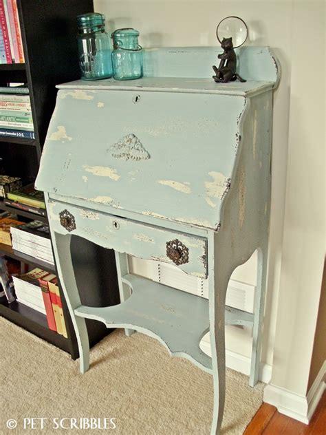 Paint For Desk by Chippy Paint Antique Desk
