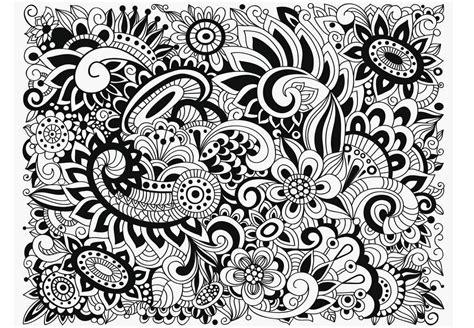 pattern art therapy coloriage anti stress et mandala gratuits pour adulte