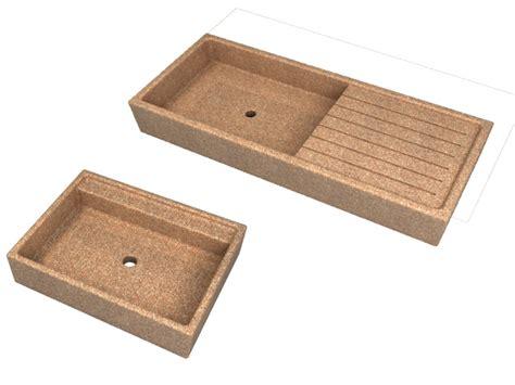 lavelli graniglia lavandini a tutta vasca e con posapiatti da esterno in