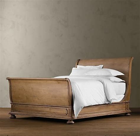 restoration hardware beds sleigh bed from restoration hardware yes please
