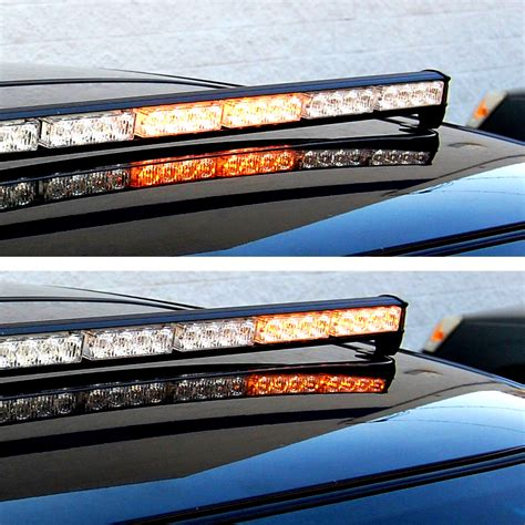 strobe light bar hqrp 32 led emergency traffic advisor flash strobe