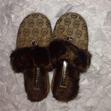 michael kors house slippers 38 off michael kors shoes michael kors house shoes from skylar s closet on poshmark