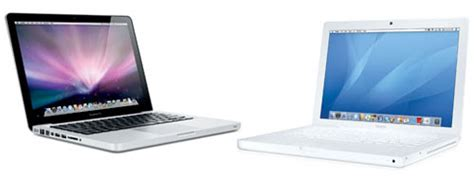 Macbook Pro White what are the differences between the white quot mid 2009 quot macbook 2 duo and the quot mid 2009 quot 13