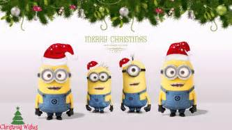 10 amazing minions merry christmas wallpapers blow mind frohes weihnachten und