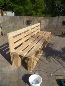 Pallet Furniture Bench Pallet Planter Bench For Garden Diy Furniture Ideas