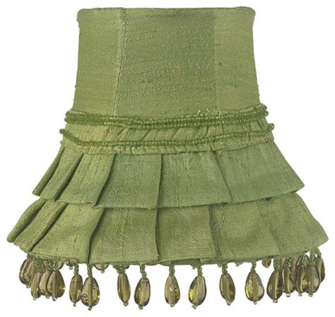 Green Chandelier Shades Skirt Dangle Chandelier Shade Green Traditional L Shades By Jubilee Collection