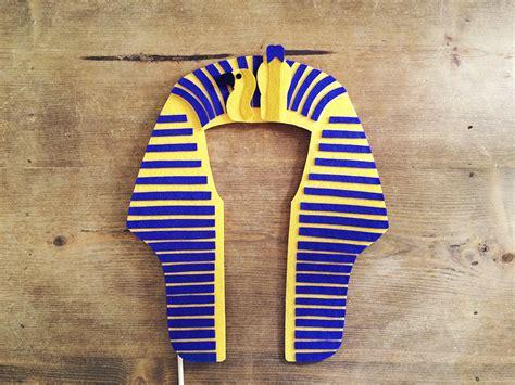 tutankhamun mask template felt king tut prop props headdress