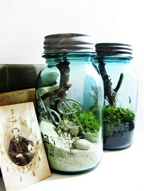 deko ideen garten glasbausteine