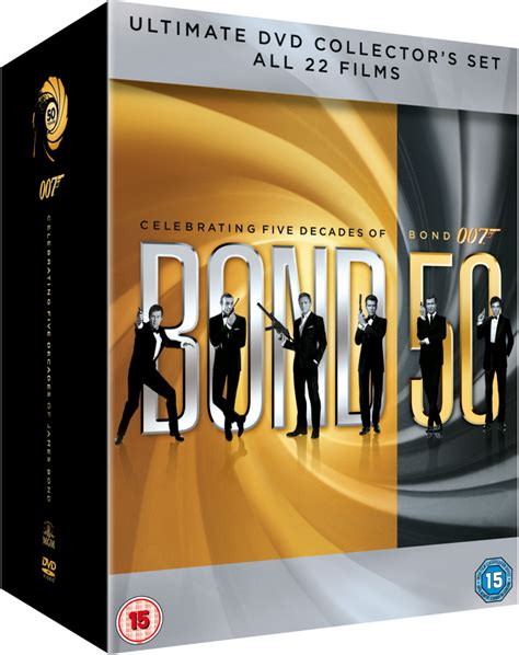 the complete james bond 1785653210 the complete james bond collection dvd zavvi