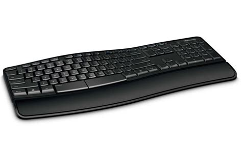 Microsoft Sculpt Comfort Keyboard by Microsoft Sculpt Comfort Keyboard Sports Dual Purpose Spacebar