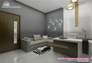 idea design ernakulam black and white themed interior designs kerala house