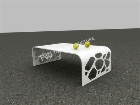corian office table cnc carved design tea table for office furniture tpet004
