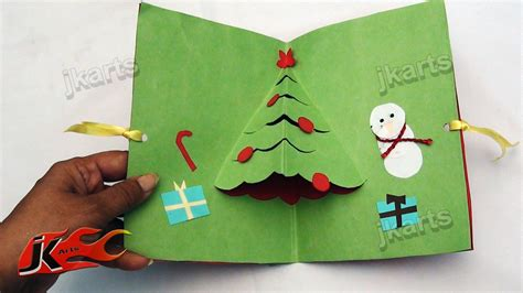 easy to make greeting cards diy how to make easy tree pop up greeting card