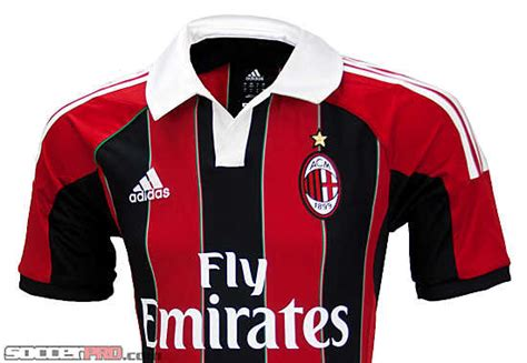 Jersey Ac Milan Home 1516 adidas ac milan home jersey 2012 ac milan jerseys
