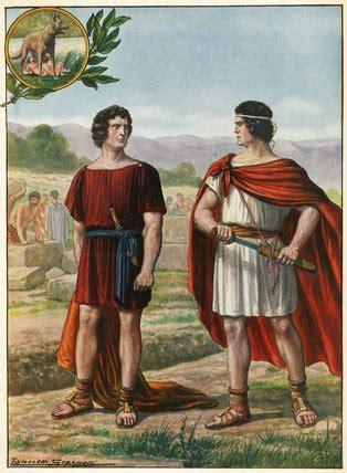 Ancient Rome Romulus And Remus   mrpsmythopedia romulus and remus