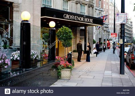 grosvenor house london grosvenor house hotel park lane london uk europe stock photo royalty free image
