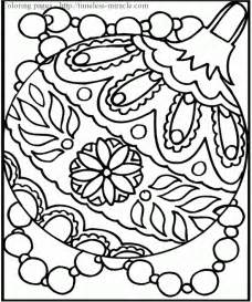 printable christmas coloring pages adults