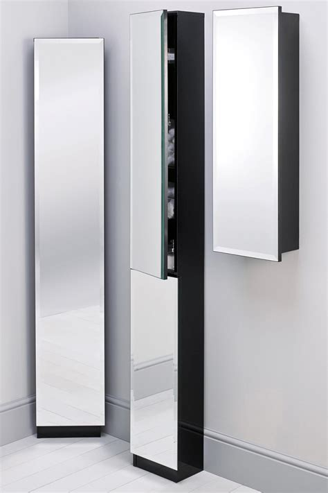 mirrored bathroom tallboy tall bathroom cabinet with mirror door bathroom cabinets