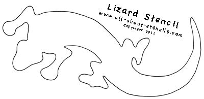 lizard template free southwestern stencils for decorating your home or t shirt