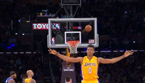 nick young celebrates a bit too early gif new york knicks memes