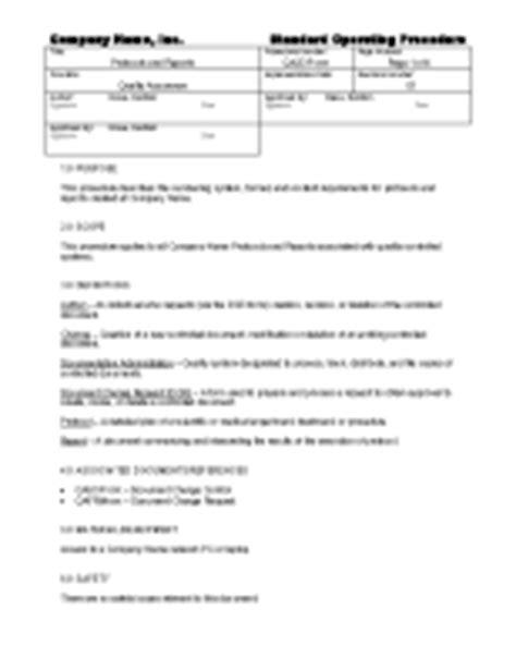 gmp audit report template validation sops templates archives gmpdocs