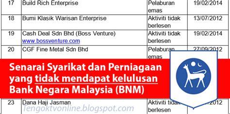 taipingmali 143 senarai syarikat mlm dan pelaburan tak