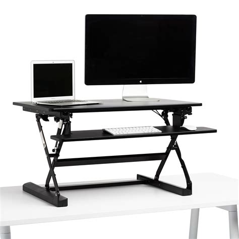 Height Adjustable Standing Desk Monitor Riser Lift Tall Standing Desk Riser