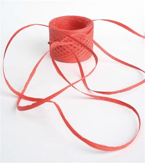 Paper Ribbon Crafts - 2mm paper raffia ribbon 100 yards paper twist and